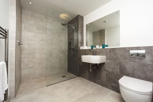 Grey-bathroom-shower-design-glass