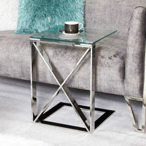 Stainless-Steel-Side-Table-Glass