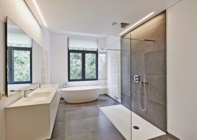 Luxury modern bathroom