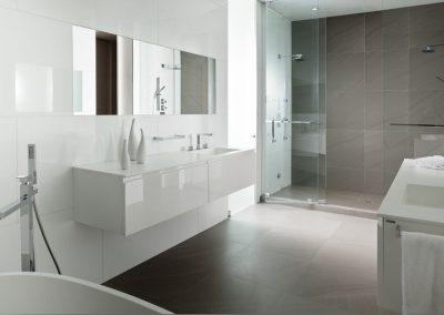 white-shower-glass-door